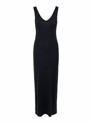 ONLJULY S-L LONG V-NECK DRESS logo