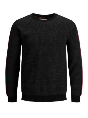 JCOCHARLES KNIT CREW NECK 179084001 Dark