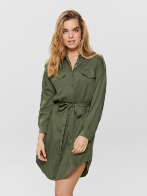 ONLUNA OVERSIZED SHIRT DRESS W 209492 Kalamata