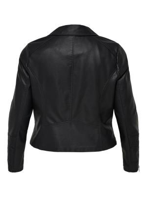 CAREMMY FAUX LEATHER BIKER NOO 177911 Black