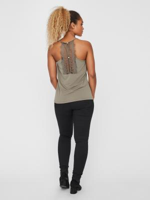 VMMILLA S-L LACE TOP NOOS 175619 Bungee C
