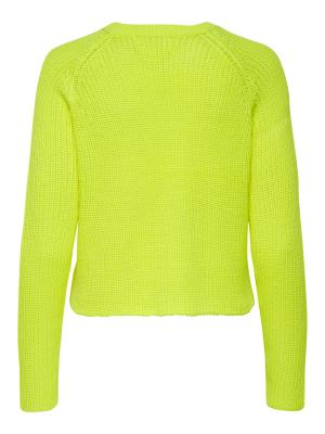 ONLBREE L-S PULLOVER KNT 191058 Limeade