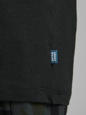 JJEORGANIC BASIC TEE SS O-NECK 178012 Black