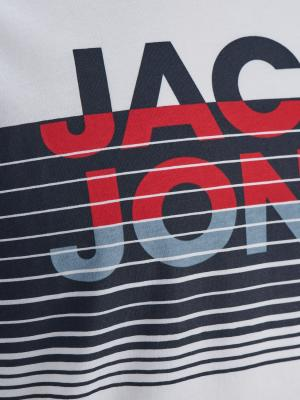 JCOBRIX TEE SS CREW NECK JR 178074 White