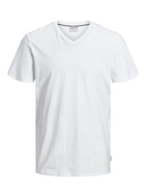 JCOSTRONG TEE SS V-NECK 178074002 White