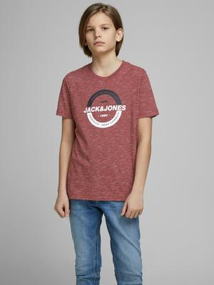 JCOSTRONG TEE SS CREW NECK JR 177222 Rio Red