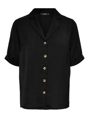 ONLSKY S-S SHIRT SOLID NOOS WV 177911 Black