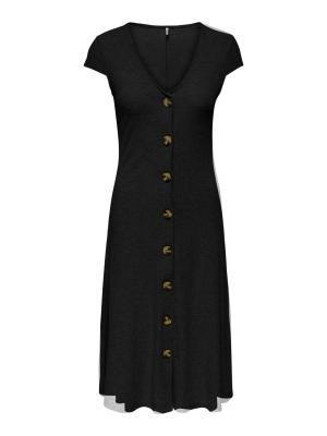 ONLNELLA S-S DRESS JRS 177911 Black