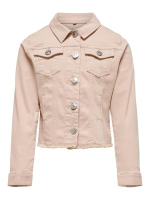 KONMILLE COLORED DNM JACKET 177951 Rose Smo