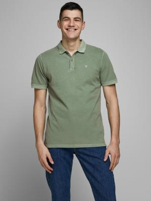 JJEJEANS WASH POLO SS CAMP 176336001 Lily