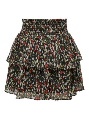 ONLERIN LAYERED SKIRT WVN 177911001 Black