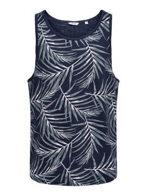 ONSIASON REG TANK TOP 192818 Dress Bl