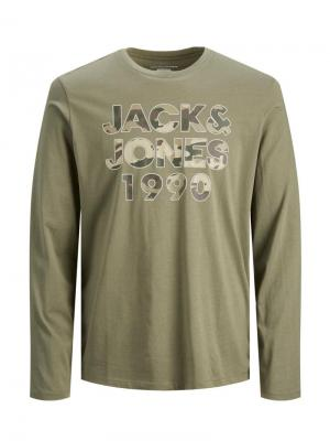 JJCAMOMAN TEE LS  CREW NECK JR logo