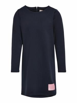 KONKIMI L-S PATCH DRESS JRS logo